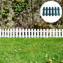 Bordure de jardin en PVC - Lot de 4